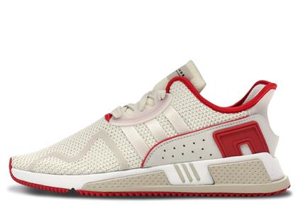 adidas EQT Cushion Adv Off White Clear Brown Scarletの写真