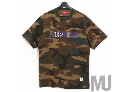 Supreme Collage Logo S-S Top Woodland Camoの写真
