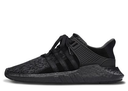 adidas EQT Support 93/17 Triple Blackの写真