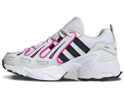 adidas EQT Gazelle Crystal White Shock Pink Womensの写真