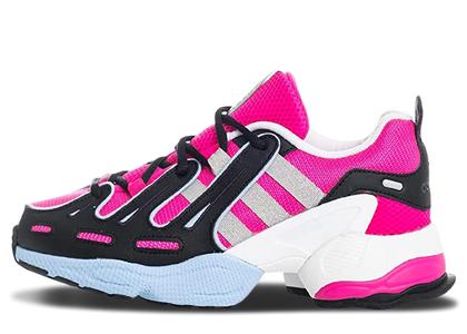 adidas EQT Gazelle Shock Pink Glow Blue Womensの写真