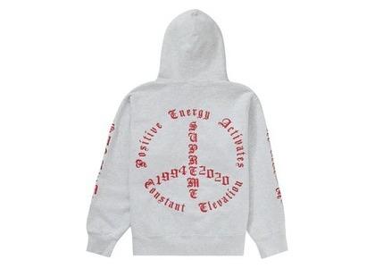 Supreme Peace Hooded Sweatshirt Ash Greyの写真