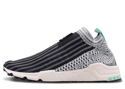 adidas EQT Support Sock Black White Clear Mint Womensの写真