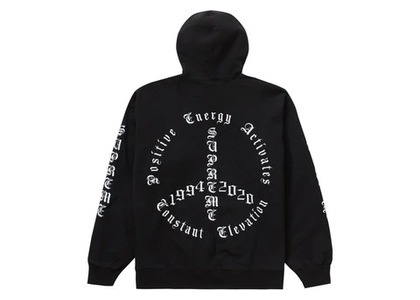 Supreme Peace Hooded Sweatshirt Blackの写真