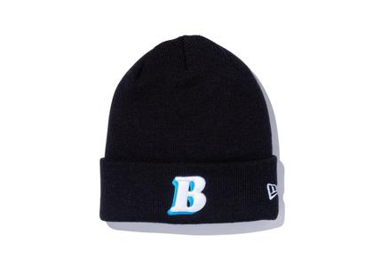 New Era × BALLISTIK BOYZ from EXILE TRIBE Basic Cuff Knit B Logo Blackの写真