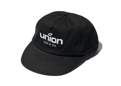 ESSENTIALS × UNION Panel Hat Blackの写真