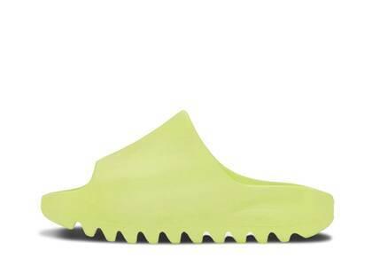 adidas Yeezy Slide Glow Green Kidsの写真