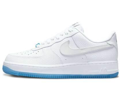 Nike Air Force 1 '07 LX White Light Blue Womensの写真
