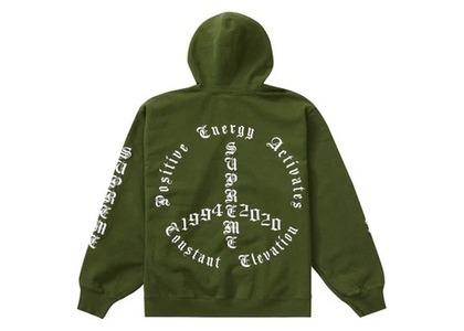 Supreme Peace Hooded Sweatshirt Greenの写真