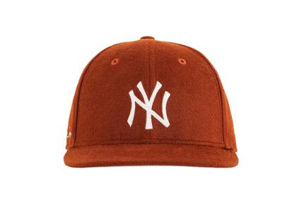 Aime Leon Dore × New Era Moleskin Yankees Hat Brownの写真