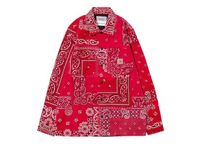 MIYAGIHIDETAKA × Carhartt WIP Bandana Master Shirt Carhartt WIP Store Tokyo Limited Redの写真