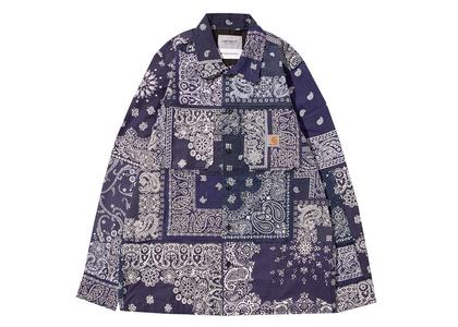 MIYAGIHIDETAKA × Carhartt WIP Bandana Master Shirt Carhartt WIP Store Tokyo Limited Navyの写真