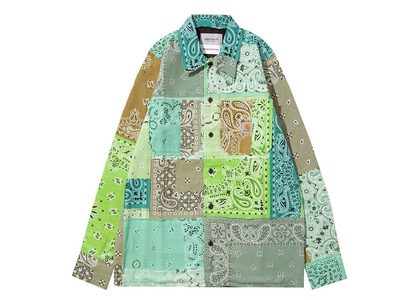 MIYAGIHIDETAKA × Carhartt WIP Bandana Master Shirt Carhartt WIP Store Tokyo Limited Greenの写真