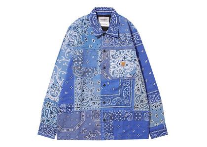 MIYAGIHIDETAKA × Carhartt WIP Bandana Master Shirt Carhartt WIP Store Tokyo Limited Blueの写真