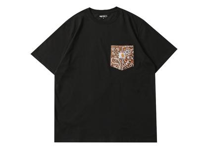 MIYAGIHIDETAKA × Carhartt WIP Bandana Pocket Tee Black / Brownの写真