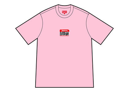 Supreme Gonz Nametag S/S Top Pink (FW21)の写真