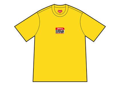 Supreme Gonz Nametag S/S Top Yellow (FW21)の写真