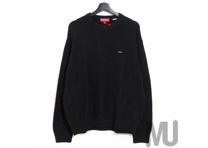 Supreme Textured Small Box Sweater Blackの写真