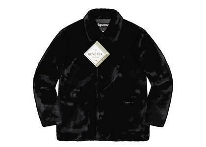 Supreme 2-Tone Faux Fur Shop Coat Black (FW21)の写真