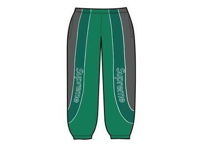 Supreme Track Paneled Sweatpant Green (FW21)の写真