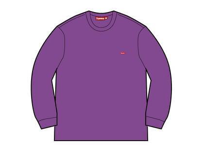 Supreme Small Box Crewneck Purple (FW21)の写真