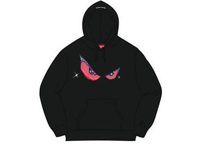 Supreme Eyes Hooded Sweatshirt Black (FW21)の写真