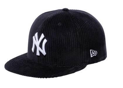 New Era 59fifty Corduroy New York Yankees Blackの写真