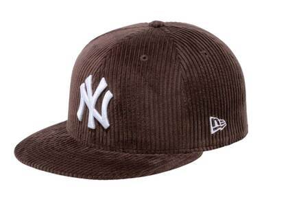 New Era 59fifty Corduroy New York Yankees Dark Brownの写真
