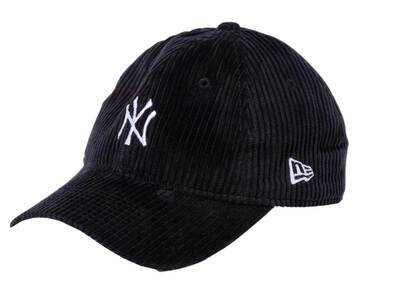 New Era 9twenty Easy Snap Corduroy New York Yankees Mid Logo Blackの写真