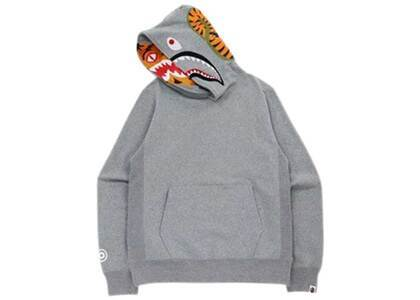 Bape Shark × Tiger Pullover Hoodie Gray (FW21)の写真
