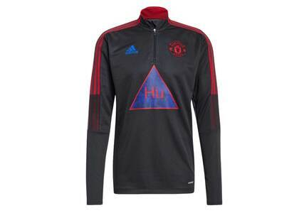 Pharrell Williams × Adidas Originals Manchester United Human Race Training Top Dark Grayの写真