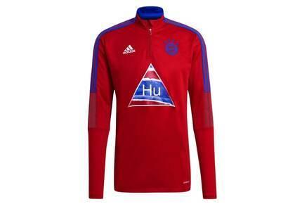 Pharrell Williams × Adidas Originals FC Bayern Human Race Training Top Redの写真