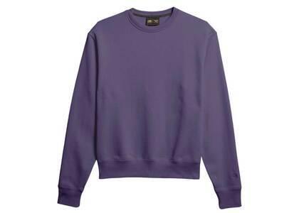 Pharrell Williams × adidas Originals Basics Crew Neck Sweat Unisex Purpleの写真