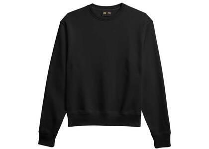 Pharrell Williams × adidas Originals Basics Crew Neck Sweat Unisex Blackの写真