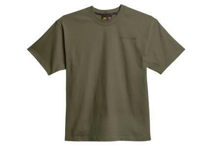 Pharrell Williams × adidas Originals Basics T Shirt Unisex Oliveの写真