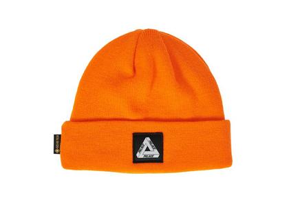 Palace Gore-Tex Tri-Ferg Patch Beanie Orange (FW21)の写真