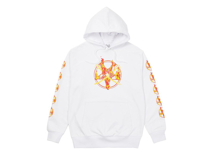 Palace Flamed Hood White (FW21)の写真