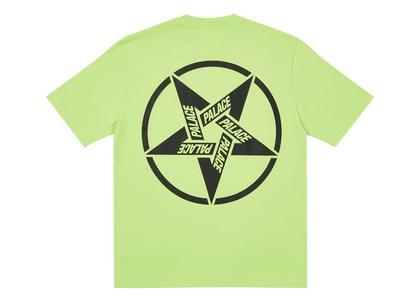 Palace Calm It Mosher T-Shirt Light Lime (FW21)の写真
