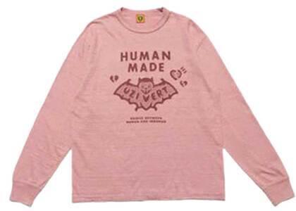 Human Made × Lil Uzi Vert L/S T-shirt Pinkの写真