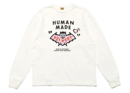 Human Made × Lil Uzi Vert L/S T-shirt Whiteの写真