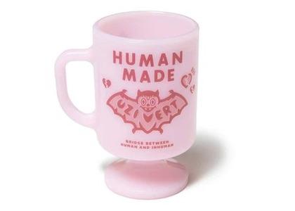 Human Made × Lil Uzi Vert Milk Glass Pedestal Uzi Vert Mug Pinkの写真