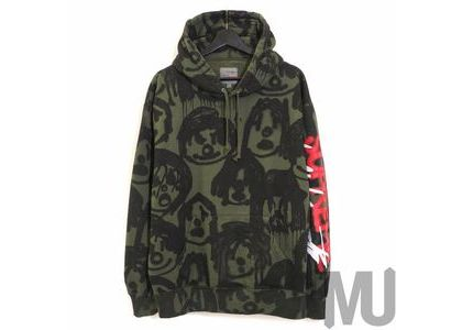 Supreme Yohji Yamamoto Hooded Sweatshirt Oliveの写真