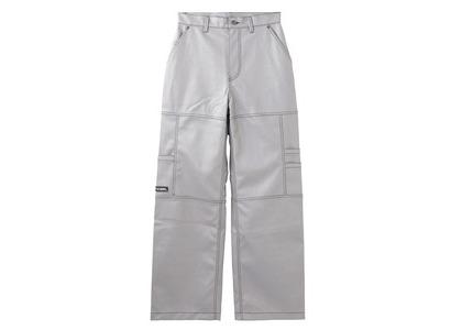 X-girl Leather Work Pants Greyの写真