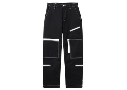 X-girl Flight Pants Blackの写真