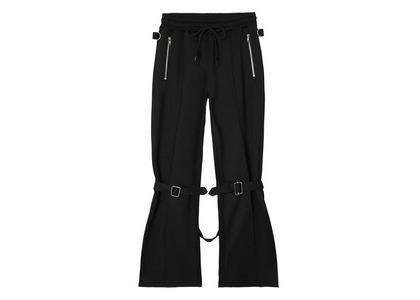 X-girl Jersey Bontage Pants Blackの写真