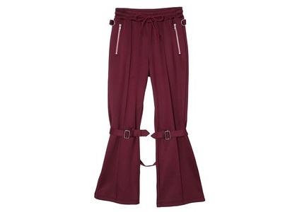 X-girl Jersey Bontage Pants Burgundyの写真