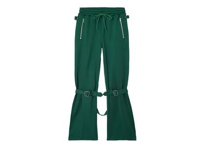 X-girl Jersey Bontage Pants Greenの写真