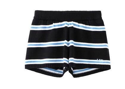 X-girl Knit Short Pants Ltblueの写真
