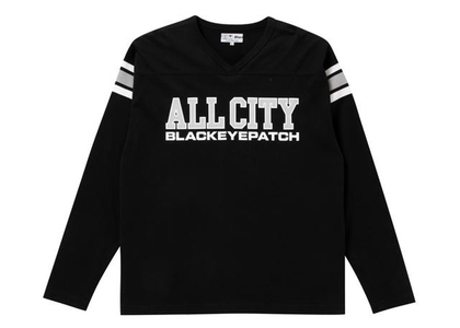 The Black Eye Patch All City Football Heavy-Weight Tee Black (FW21)の写真