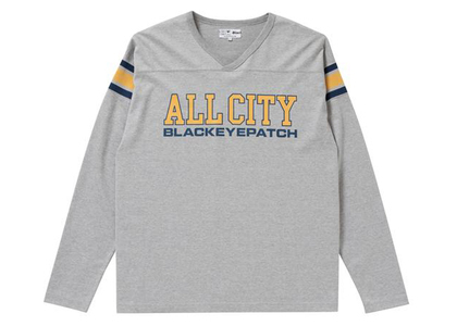 The Black Eye Patch All City Football Heavy-Weight Tee H.Gray (FW21)の写真